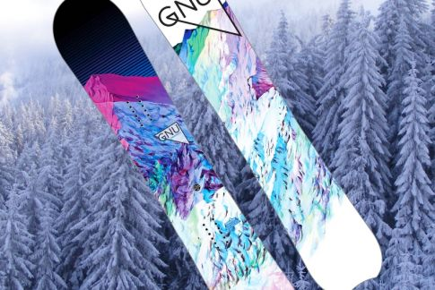 Dámský snowboard GNU Chromatix BTX